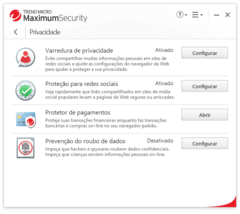 Maximum Internet Security Software 2020 1 Ano 1 PC | Trend Micro - loja online