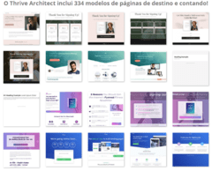 Construtor de Sites, LandPages e Iscas Digitais. Thrive Architect v. 2020 - comprar online