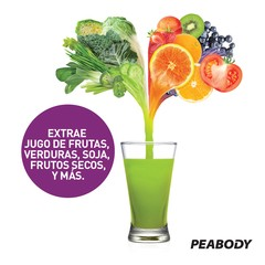 Juguera Slow Juicer Peabody by Hurom 150W - comprar online
