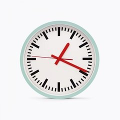 Reloj de Pared Swiss Clock - HolaCasa