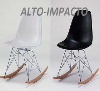 Silla Sillon Mecedora Rocking Chair De Charles Eames Rsr - ALTO IMPACTO Home + Office