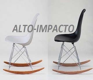 Silla Sillon Mecedora Rocking Chair De Charles Eames Rsr en internet