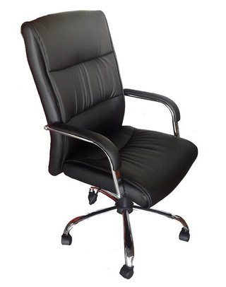 Sillon Ejecutivo Oficina Pc Ergonomico Mod Beta Base Cromada - ALTO IMPACTO Home + Office