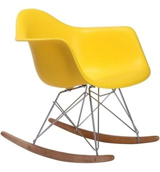 Silla Sillon Mecedora Rocking Chair Charles Eames V Colores en internet