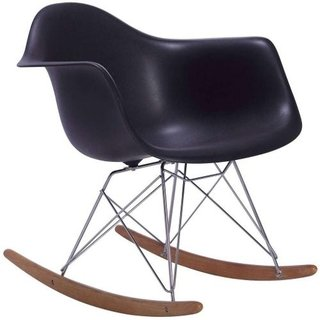Sillon Mecedora Rocking Transparente Eames- Alto Impacto - ALTO IMPACTO Home + Office