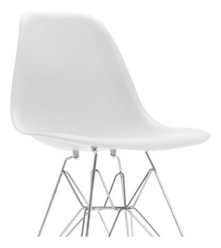 Set * 4 Silla Eames Comedor Base Metalica Dsr- Alto Impacto - ALTO IMPACTO Home + Office