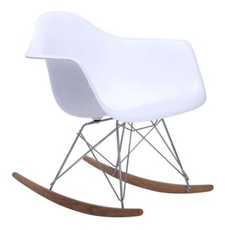 Silla Sillon Mecedora Rocking Chair Charles Eames V Colores - ALTO IMPACTO Home + Office