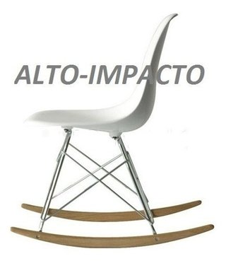 Silla Sillon Mecedora Rocking Chair De Charles Eames Rsr