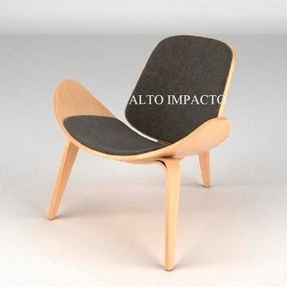 Silla Sillon Ch07 De Hans Wegner Lounge Chair - Alto Impacto - ALTO IMPACTO Home + Office