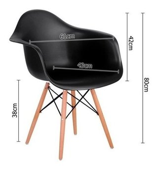 Set 2 Sillon Eames Daw Abs Gris - Alto Impacto - ALTO IMPACTO Home + Office