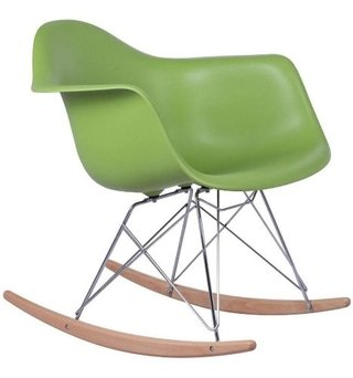 Silla Sillon Mecedora Rocking Chair Charles Eames V Colores - comprar online