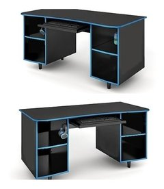 Escritorio Gamer Mueble Pc Playstation Pagos - Alto Impacto