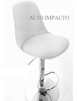 Set * 2 Banqueta Taburete Regulable Tulip X L - Alto Impacto en internet