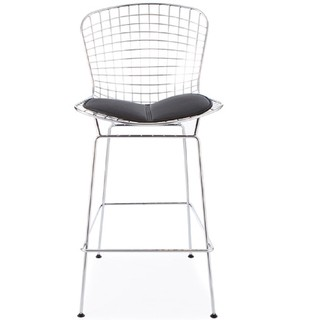 Banqueta Harry Bertoia Cromada - ALTO IMPACTO Home + Office