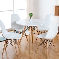 Mesa Eames con 4 sillas Dsw By Charles Eames - comprar online