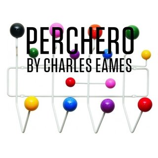 Perchero  'Hang It All' de Charles y Ray Eames - ALTO IMPACTO Home + Office