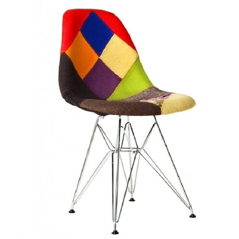 Silla Dsr Patchwork Old By Charles Eames - comprar online