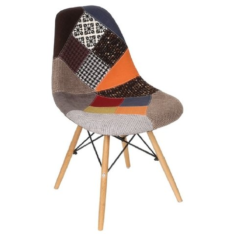 Silla Dsw Patchwork New By Charles Eames - comprar online