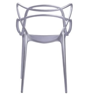 Silla Masters de Phillipe Starck Plata - ALTO IMPACTO Home + Office
