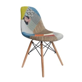 Silla Dsw Patchwork Old By Charles Eames - comprar online