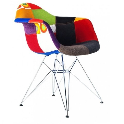 Sillon Dar Patchwork By Charles Eames