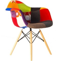 Sillon Daw Patchwork By Charles Eames Old