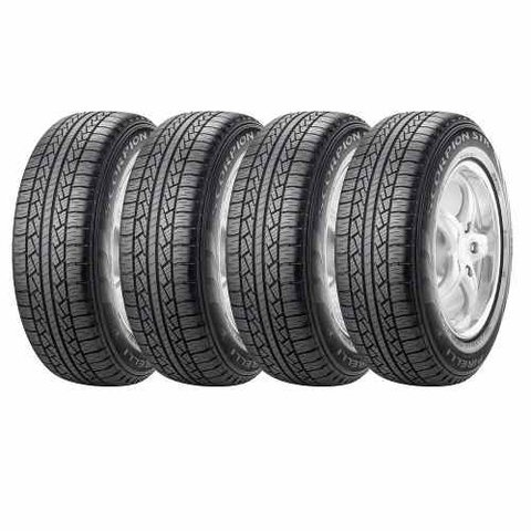 Kit X4 Neumaticos 225/65r17 Pirelli Scorpion Str Crv Rav4 Journey