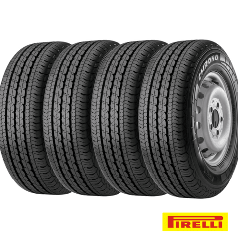 Kit X4 Neumáticos 195/70r15 Pirelli Chrono Sprinter H100