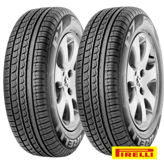 Kit X2 Neumaticos 195/55r15 Pirelli P7  Fox Gol C/colocacion