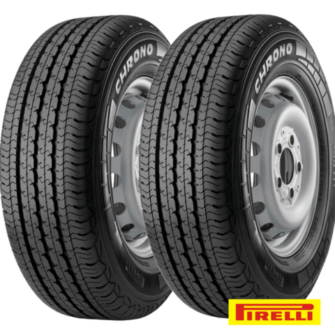 Kit X2 195/75r16 Pirelli Chrono 107r  Mb180 Daily Sprinter