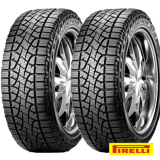 Kit X2 255/65r17 Pirelli Scorpion Atr 110t S10 Jeep