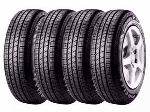 Kit X4 Neumaticos 175/65r14 Pirelli P4 Cinturato  Fit City
