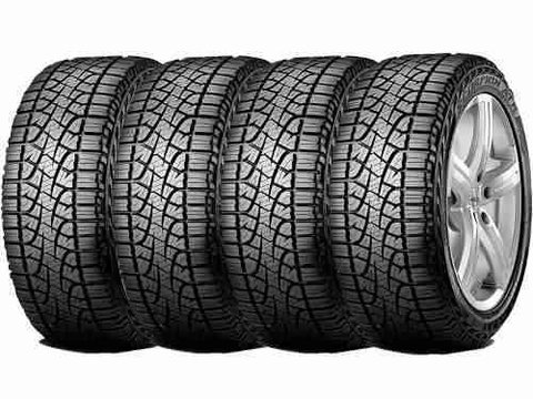 Kit X4 255/65r17 Pirelli Scorpion Atr 110t S10 Jeep