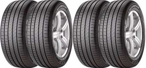 Kit X4 235/60r18 Pirelli Scorpion Verde As Xc60 Q7 Rover