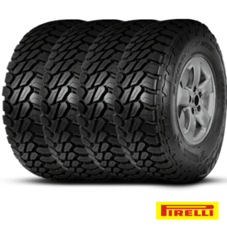 Kit X4 Neumáticos Pirelli 255/70r16 Scorpion Mtr