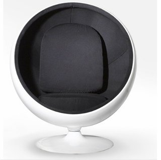 Ball Chair: Black - comprar online