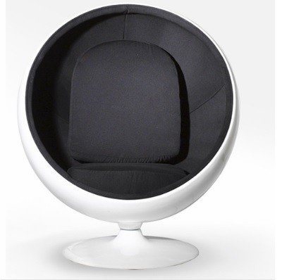 Ball Chair: Black