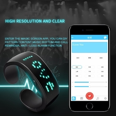 Pulsera LED Bluetooth - comprar online