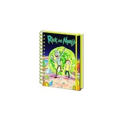 Libreta anillada Rick and Morty: Portal