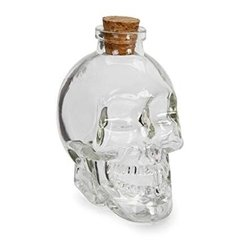 Botella de vidrio Calavera (750 ml) - My Mix