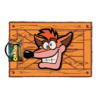 Limpiapies Crash Bandicoot Extra Life Crate