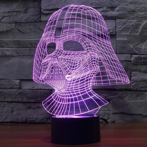 Lampara De escritorio Led 3D (Varios modelos) - My Mix