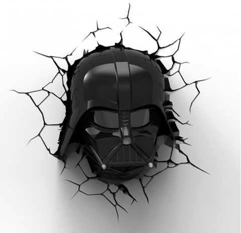 Lampara 3D Star Wars: Darth Vader