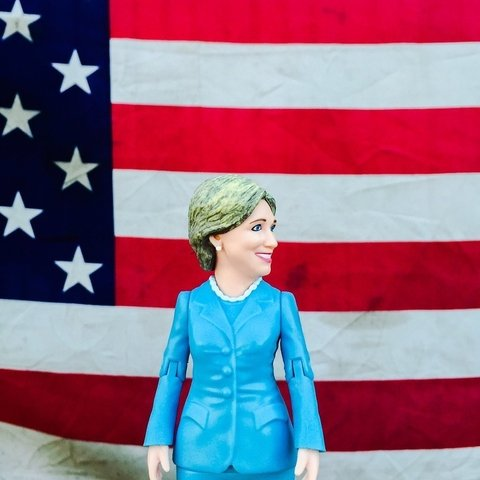 Figura Hillary Clinton - My Mix