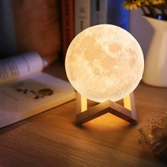 Lámpara Luna 15cm 3D Bluetooth en internet