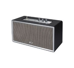 Parlante Amplificador Retro Bluetooth Black en internet