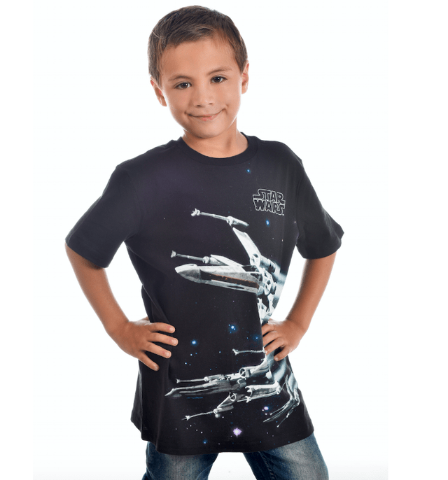Polera Star Wars niño