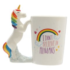 "Tazón Unicornio:  ""I´Dont Believe in Humans"""
