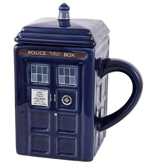 Mug Doctor Who: Tardis