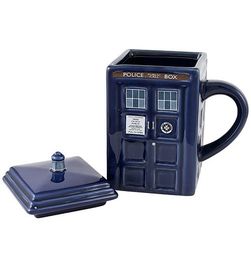 Mug Doctor Who: Tardis en internet